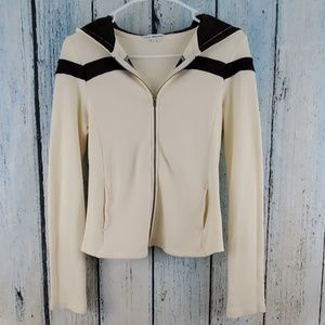 James Perse full zip hooded jacket size 2